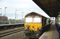 66174 arriving in Swindon on 4 June with a <I>Pathfinder</I> excursion to Buxton.<br><br>[Peter Todd&nbsp;04/06/2011]