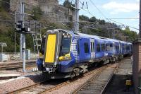 380 104 departs Edinburgh Waverley on 14 June with the 13.43 to North Berwick.<br> <br><br>[Bill Roberton&nbsp;14/06/2011]