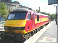 90018 stabled at the east end of Waverley on 14 June.  <br><br>[Veronica Clibbery&nbsp;14/06/2011]