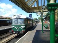 Waggon & Maschinenbau railbus at Sheringham on 20 June with a service to Holt.<br><br>[Bruce McCartney&nbsp;20/06/2011]