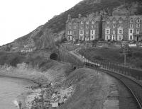 View north at Barmouth from the bridge over the Mawddach estuary in 1968.<br><br>[David Spaven&nbsp;//1968]