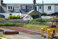 Part of the yard at McCulloch Rail, Ballantrae, Ayrshire, on 16 June 2011.<br><br>[Colin Miller&nbsp;16/06/2011]