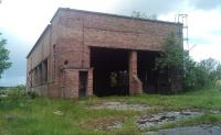 The former locomotive shed at Comrie Colliery, Fife, on 4 June 2011. This is the only building still standing on the site, perhaps not for much longer, given current proposals to reclaim the land. <br> <br><br>[Grant Robertson&nbsp;04/06/2011]