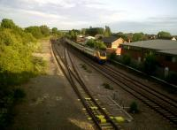 You may have heard of Sharnbrook Summit or Tunnel; these days it looks like the old station is where the MML comes down from 4 tracks to 3 on its way out of London. The goods shed still stands; I suspect that the station was where the lean-to stands by the fourth coach of the Northbound 222. <br><br>[Ken Strachan&nbsp;16/06/2011]