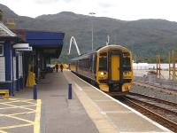 After a 35 minute lay-over at Kyle of Lochalsh, no 158706 is about to start its two and a half hour journey back to Inverness with the 12.03 departure on 22 June.<br><br>[David Pesterfield&nbsp;22/06/2011]