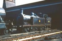 Reid N15 0-6-2T no 69178 stands on Eastfield shed in May 1959. <br><br>[A Snapper (Courtesy Bruce McCartney)&nbsp;23/05/1959]