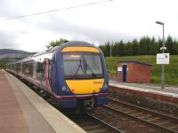 The 15.54 service to Glasgow leaves Dalwhinnie on 22 June 2011.<br><br>[David Pesterfield&nbsp;22/06/2011]