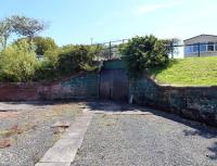 The subway leading to the island platform at Maidens station from the west in July 2011. [See image 34856]<br> <br><br>[Colin Miller&nbsp;11/07/2011]