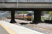 66185 about to pass through Cardonald with a coal train from Hunterston bound for Longannet PS<br><br>[Graham Morgan&nbsp;23/06/2011]