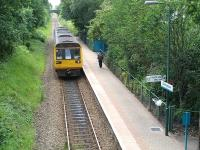 142010 runs into Birchgrove station on 8 June returning to Radyr with the 15.45 service from Coryton. <br><br>[David Pesterfield&nbsp;8/06/2011]