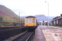 Platform view north at Treherbert in September 1977.<br><br>[Ian Dinmore&nbsp;/09/1977]