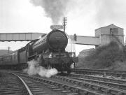 B16 4-6-0 no 61418 with the SLS/MLS/Kings College <I>'Durham Rail Tour'</I> leaving West Auckland Colliery on 13 October 1962 on its way to Port Clarence.<br><br>[K A Gray&nbsp;13/10/1962]