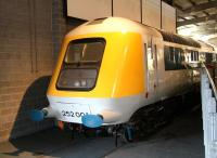 HST prototype no 252 001 on display at the NRM on 29 June 2011 [see image 36847]. <br><br>[John Furnevel&nbsp;29/06/2011]