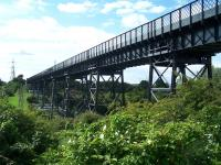 The Blyth & Tyne railway viaduct over the River Blyth on 19 July.<br><br>[Colin Alexander&nbsp;19/07/2011]
