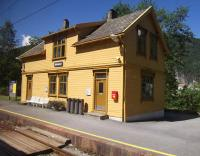 Bolstad�yri Station on The Bergen Railway between Bergen and Voss on a beautiful July afternoon - about the only day during our trip to Norway during which it didn't rain!<br><br>[Beth Crawford&nbsp;27/07/2011]