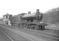 62471 <I>Glen Falloch</I> photographed at Jedburgh on 4 April 1959 during the visit of the BLS 'Scott Country Rail Tour'.<br><br>[Robin Barbour Collection (Courtesy Bruce McCartney)&nbsp;04/04/1959]