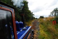 Victoria on the approach to Tarmstedt Loop from the south. This is the view from the cab, well at arm's length from the cab. (Thanks Peter!)<br><br>[Ewan Crawford&nbsp;/08/2011]
