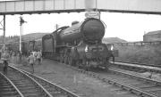 Scene in the sidings at West Auckland Colliery on 13 October 1962, with B16 4-6-0 no 61418 having taken over the SLS/MLS/Kings College <I>'Durham Rail Tour'</I>. The special had arrived from Durham behind V3 no 67636 and the B16 was preparing to take charge for the next leg to Port Clarence.<br><br>[K A Gray&nbsp;13/10/1962]