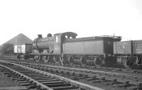 J37 0-6-0 no 64625 in the shed yard at Thornton in October 1965, one month after official withdrawal.<br><br>[K A Gray&nbsp;19/10/1965]