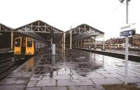 Wet day at Southport - April 1990.<br><br>[Ian Dinmore&nbsp;/04/1990]