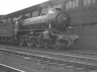 B1 4-6-0 no 61006 <I>'Blackbuck'</I> photographed standing alongside Lincoln shed circa 1959.<br><br>[K A Gray&nbsp;//1959]