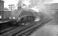 60031 <I>Golden Plover</I> stands at Carlisle on 18 April 1965 with SLS (Scottish Area)/BLS <I>'Scottish Rambler No 4 Railtour'</I>. The special had arrived via the Waverley Route and was preparing to depart for Glasgow Central using the WCML.<br><br>[K A Gray&nbsp;18/04/1965]