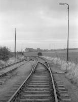 Looking north east towards Dalkeith Colliery in 1978 along part of the former route to Hardengreen Junction.<br><br>[Bill Roberton&nbsp;//]