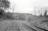 The southern extremity of the railway at Dalkeith Colliery in 1978, part of the former through route from Smeaton running south west to Hardengreen Junction.<br><br>[Bill Roberton&nbsp;//1978]