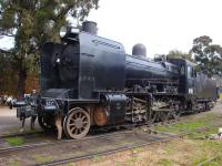 J541 had been superseded in use on the Victorian Goldfields Railway by K160, an earlier design of 2-8-0, built at the Newport Workshops of VR in 1940. <br> <br> <br> <br><br>[Colin Miller Collection&nbsp;28/08/2011]