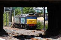 57011 and 57009 about to pass through Cardonald on 23rd June 2011 with a nuclear flask train from Hunterston to Carlisle Kingmoor<br><br>[Graham Morgan&nbsp;23/06/2011]