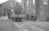 6824 <I>Ashley Grange</I> photographed in August 1960 on Penzance shed.<br><br>[K A Gray&nbsp;10/08/1960]