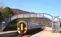 158701 leaving Helmsdale for Wick and Thurso on a glorious 27 April 2011.<br><br>[Brian Smith&nbsp;27/04/2011]