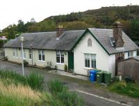 Plockton Station in September 2011. The station building is now used as a holiday home.<br><br>[Alistair MacKenzie&nbsp;22/09/2011]