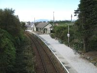 View west over Plockton Station towards Kyke of Lochalsh on 18 September 2011.<br><br>[Alistair MacKenzie&nbsp;18/09/2011]