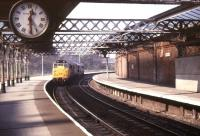 A pair of class 31s running light through Hartlepool station in May 1990.<br><br>[Ian Dinmore&nbsp;/05/1990]