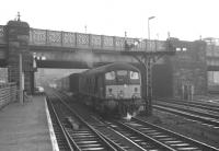 D5070 at Carlisle platform 7 on 27 December 1968 with the 1pm to Edinburgh Waverley via Hawick.<br><br>[K A Gray&nbsp;27/12/1968]