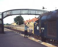 Token exchange at Nairn in 1979.<br><br>[Ian Dinmore&nbsp;//1979]
