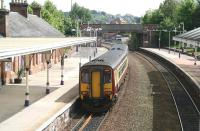 156504 restarts from Dumfries on 20 May 2008 with a Glasgow Central - Carlisle service.<br><br>[John Furnevel&nbsp;20/05/2008]