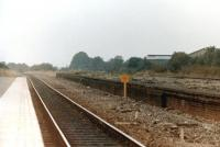 The remains of Honeybourne station in 1985. The station reopened that year having previously lost its passenger service in May 1969.<br><br>[Colin Miller&nbsp;//1985]