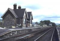 Refurbishment and restoration work taking place on the former station building at Horton-in-Ribblesdale in June 1978. The 1876 station had been closed to passengers since 1970 but happily reopened in 1986. [See image 46928]<br><br>[Ian Dinmore&nbsp;06/06/1978]