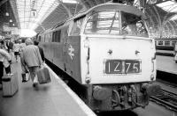 D1040 <I>Western Queen</I> stands at the buffer stops at Paddington station platform 1 in 1973.<br><br>[Bill Roberton&nbsp;//1973]