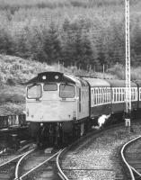 Approaching Glenfinnan in 1976.<br><br>[Ian Dinmore&nbsp;//1976]