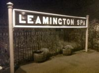 <I>Ladies and gentlemen, you are now entering Leamington Spa. Please remember to turn back your watches... around 85 years.</I> This busy station is full of period touches - mostly Art Deco, so about 1930's should suffice.<br><br>[Ken Strachan 25/10/2011]
