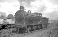 J35 0-6-0 no 64510 at Duddingston Junction on 25 August 1962. The locomotive took charge of the SLS <I>Edinburgh and Dalkeith Railtour</I> for the section between here and St Leonards terminus [see image 27447].<br><br>[R Sillitto/A Renfrew Collection (Courtesy Bruce McCartney)&nbsp;25/08/1962]