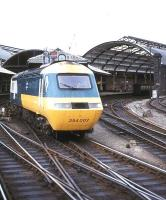 BR InterCity 125 service leaving Newcastle for Kings Cross in 1985.<br><br>[Ian Dinmore&nbsp;//1985]