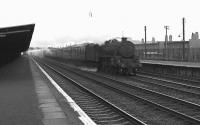 A Black 5 brings a train through Hillington West on the down fast line in May 1963.<br><br>[Colin Miller&nbsp;/05/1963]