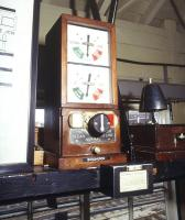 Inside Crewe Junction signal box, Shrewsbury, 26 October 1989. <br><br>[Ian Dinmore&nbsp;26/10/1989]