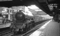 60052 <I>Prince Palatine</I> at Aberdeen on 4 September 1965 with the 9.2am ex-Edinburgh <I>'LNER Pacific Tour'</I>.<br><br>[K A Gray&nbsp;04/09/1965]