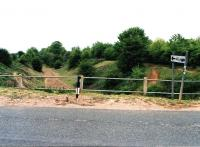 The sign at Lutterworth says 'all routes' - but I can only see one - to Marylebone. Bit of a comedown really - intended as a through route from Manchester to Paris, now apparently used as a BMX track.<br><br>[Ken Strachan&nbsp;/06/2010]