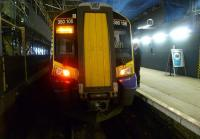 The 13.26 ex-North Berwick seen on 2 December shortly after arrival at Waverley.<br><br>[Bruce McCartney&nbsp;02/12/2011]